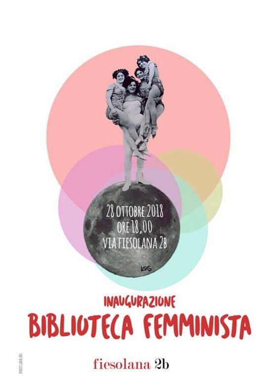 """A Firenze inaugura  la """"Biblioteca Femminista"""""""