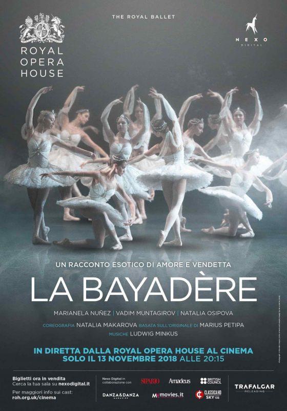 Al cinema Odeon La Bayadere, in diretta dalla Opera House di Londra