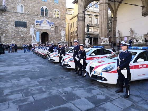 Festa della Polizia Municipale, l'open day in piazza della Signoria