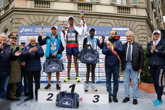 Firenze marathon, vince Bahrein Gelelchu. Omaggio ad Astori