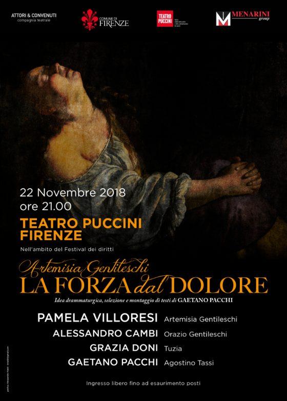 Artemisia e la sua forza con Pamela Villoresi al Puccini