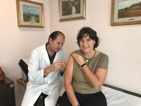 Influenza, Stefania Saccardi si è vaccinata e invita i toscani a imitarla