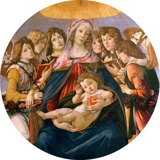 Botticelli sorprende ancora, la melagrana nasconde un cuore