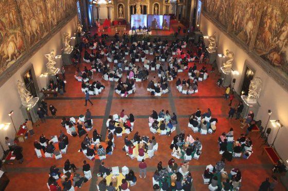 500 ragazzi in Palazzo Vecchio per progettare città del 2030