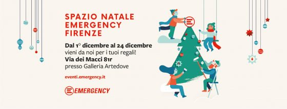 Emergency: Spazio Natale in Sant'Ambrogio