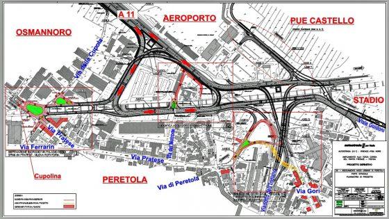 Svincolo di Peretola, approvato progetto esecutivo