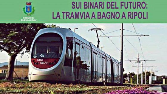 Tramvia linea per Bagno a Ripoli nel 2023