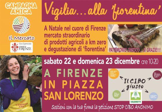 Firenze: torna in San Lorenzo la mitica bistecca alla 'fiorentina'
