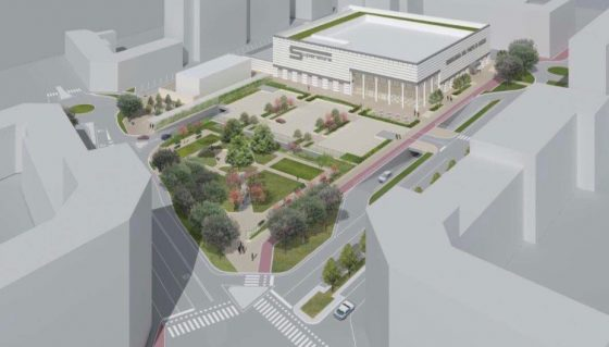 Rinasce l'ex Panificio militare: giardino, parcheggio ed edificio commerciale