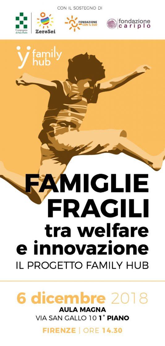 "Family Hub a Firenze: ""Famiglie fragili, tra welfare e innovazione"""