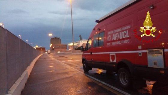 Vigili del Fuoco della Toscana a Catania per terremoto