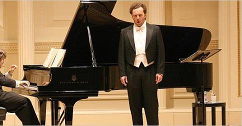 Amici della Musica Firenze presenta: Christian Gerhaher accompagnato da Gerold Hiber