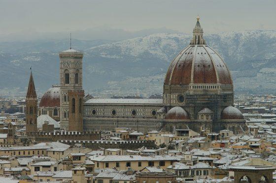 Pericolo neve a Firenze: fino a domani è allerta gialla