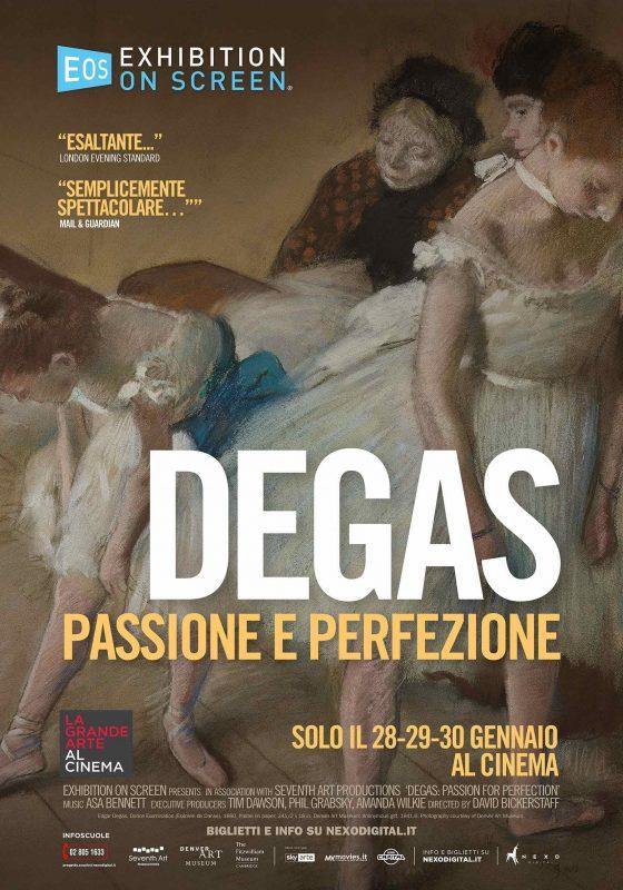 """""""Degas: passione e perfezione"""" al cinema Odeon di Firenze"""