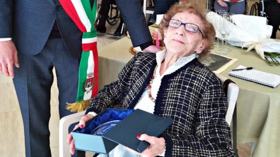 Estella Caprotta, a 106 anni la più longeva del Chianti