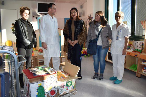 Empoli: scatole colorate e libri in dono a bambini ricoverati