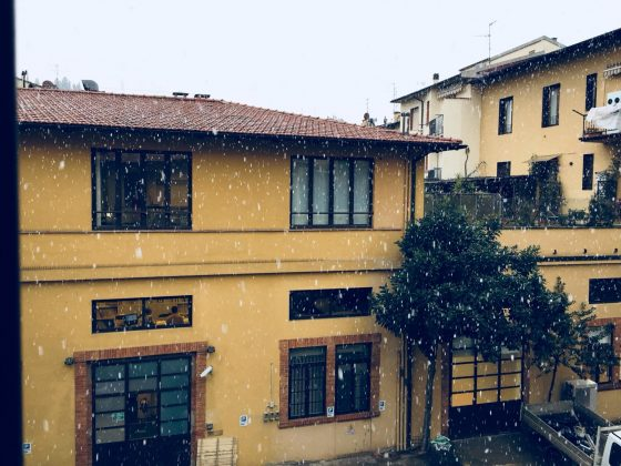 Maltempo: nevica a Firenze e nell'aretino