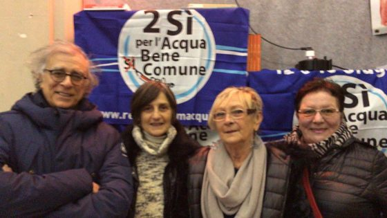 Forum per l'acqua, chiede chiarezza a Publiacqua ed ACEA
