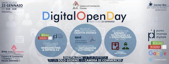 Digital Open Day: l'evento della Camera di Commercio di Firenze