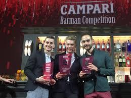 Firenze, Campari Barman Competition: vince il negroni fruttato
