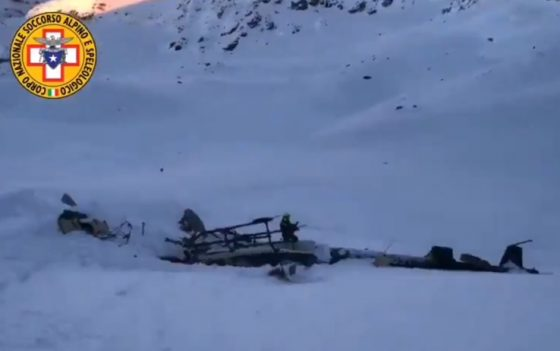 Aosta: fiorentino pilota elicottero precipitato