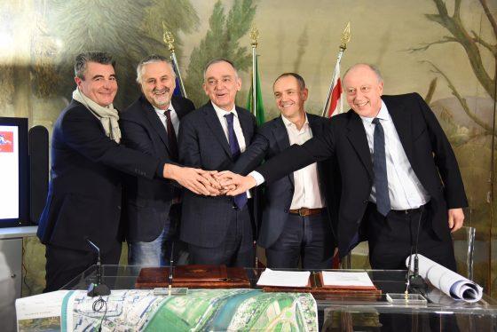 Firmato l'accordo per il nuovo ponte sul Serchio
