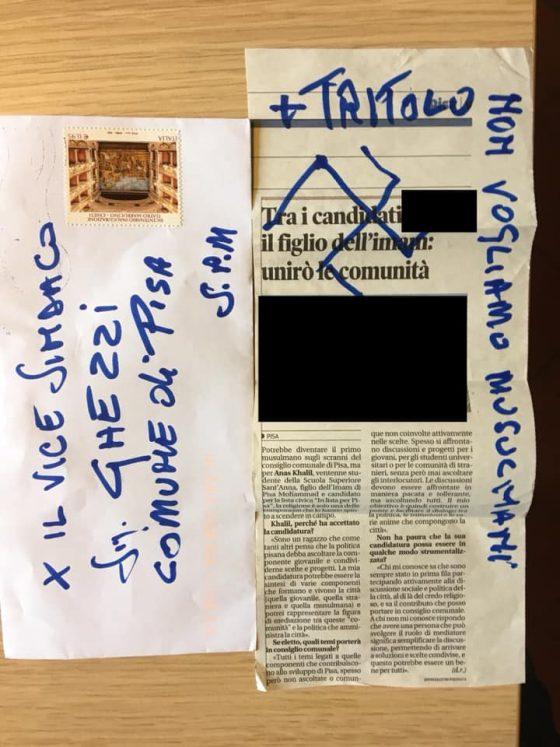 Pisa, Ghezzi (ex vicesindaco): anche figlio imam fu minacciato