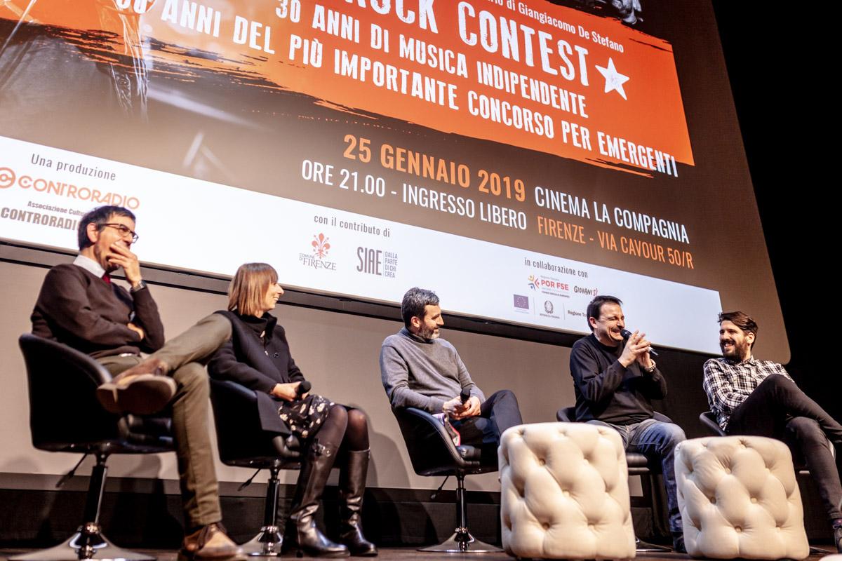 proiezione Rock Contest