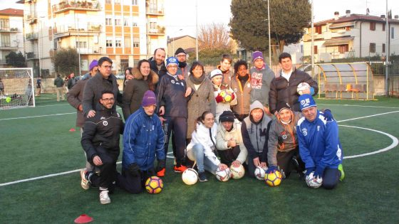 Nasce a Firenze la prima scuola calcio per diversamente abili