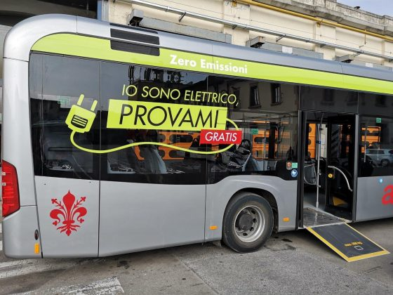 A Firenze test su strada per bus elettrico di 12 metri