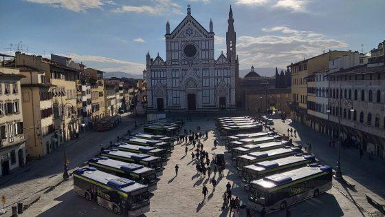 Nuova flotta di bus ibridi per Firenze