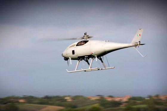 Pisa, Leonardo produce l'elicottero senza pilota AwHero