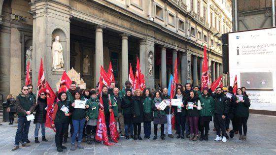 Sciopero addetti servizi Musei Fiorentini