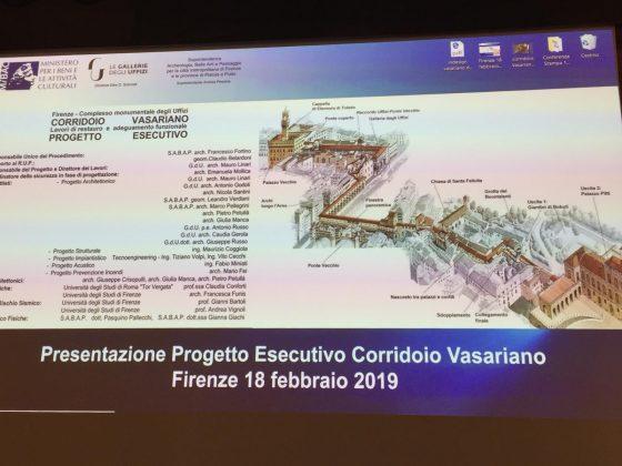 Schmidt presenta progetto riapertura Corridoio Vasariano 2021