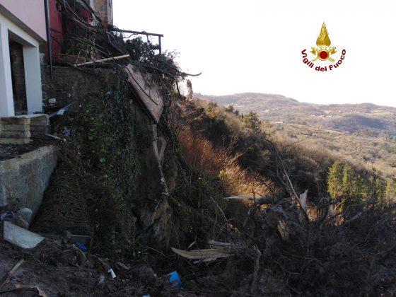 Maltempo: vento abbatte decine di alberi su Amiata