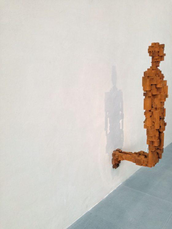 Essere, la mostra di Antony Gormley agli Uffizi.