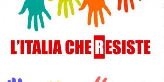 'L'Italia che resiste', anche il PD in piazza