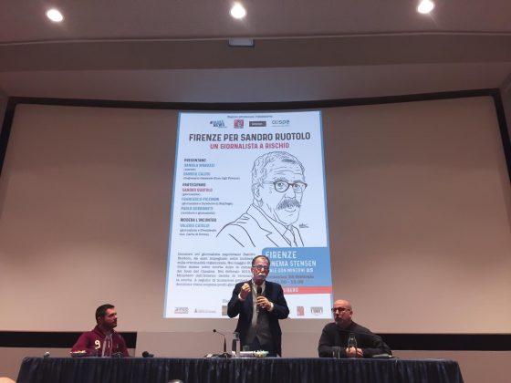 Firenze per Sandro Ruotolo: in 200 allo Stensen