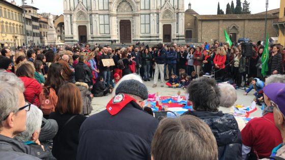 'Italia che resiste' torna in piazza a Firenze