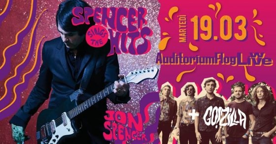 Jon Spencer & The Hitmakers in concerto a Firenze