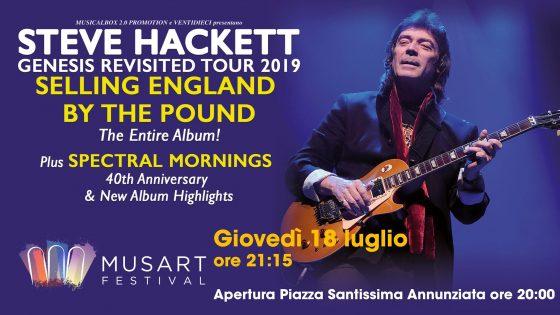 Steve Hackett al Musart Festival Firenze