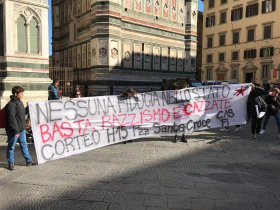 """Cas Firenze, studenti in piazza il 22 marzo: """"No razzismo e finta sicurezza"""""""