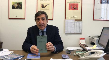 """Franco Cesati con """"Lessico famigliare"""" a Il Libro della Vita"""