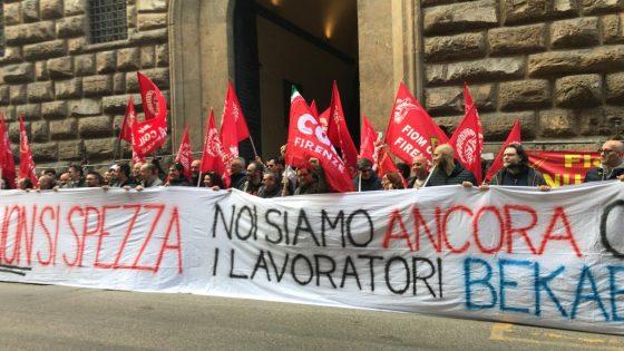 Bekaert: presidio Fiom a Firenze