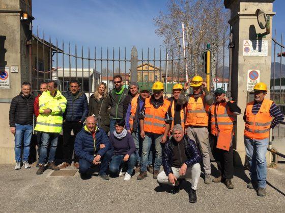 """Firenze, presidio sindacati: """"sblocco opere crea 2000 posti di lavoro"""""""