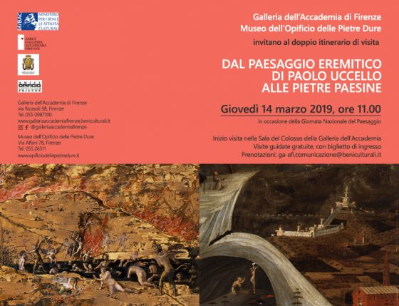 """""""Dal paesaggio eremitico di Paolo Uccello alle pietre paesine"""":"""