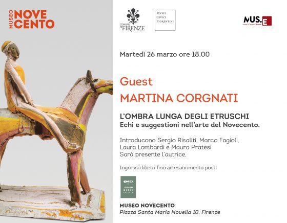 Museo Novecento: la riscoperta degli etruschi con Martina Corgnati