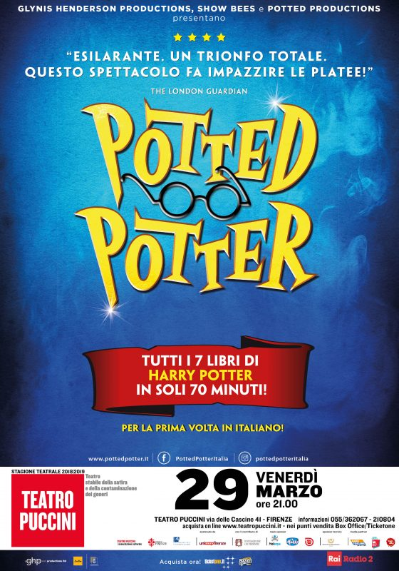 Sold out per Potted Potter al Puccini