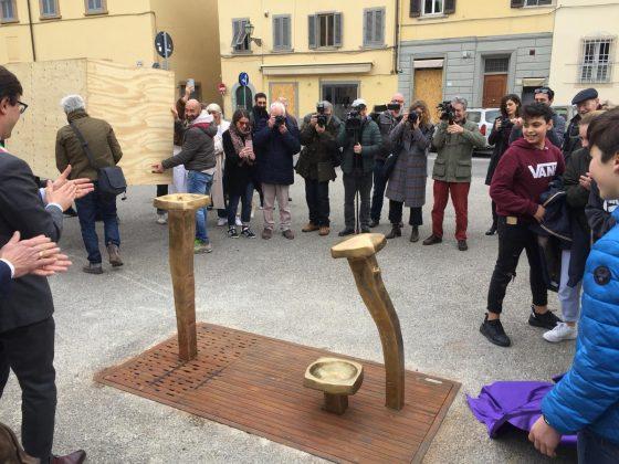 In piazza del Carmine il fontanello di un giovane designer fiorentino
