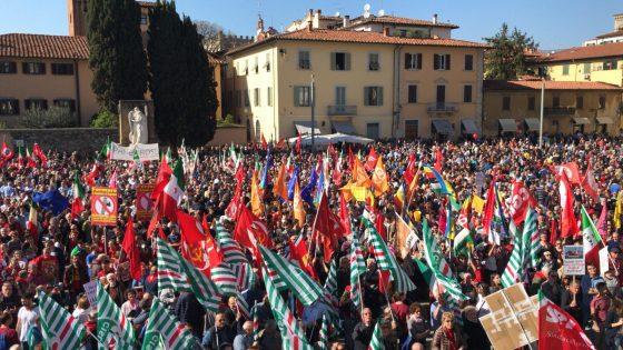 Antifascismo: a Prato oltre 5 mila persone alla contromanifestazione